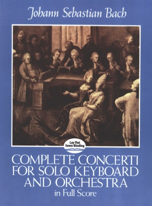 Complete Concerti For Solo Keyboard And Orchestra - Full Score laflutedepan