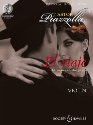 El Viaje For Violon Astor Piazzolla Partition Violon - laflutedepan