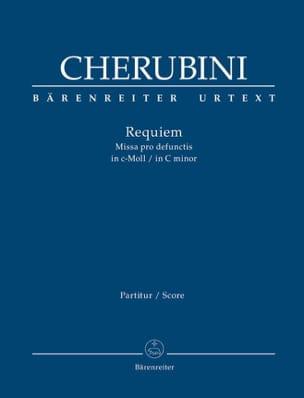 Requiem en do mineur - Conducteur CHERUBINI Partition laflutedepan