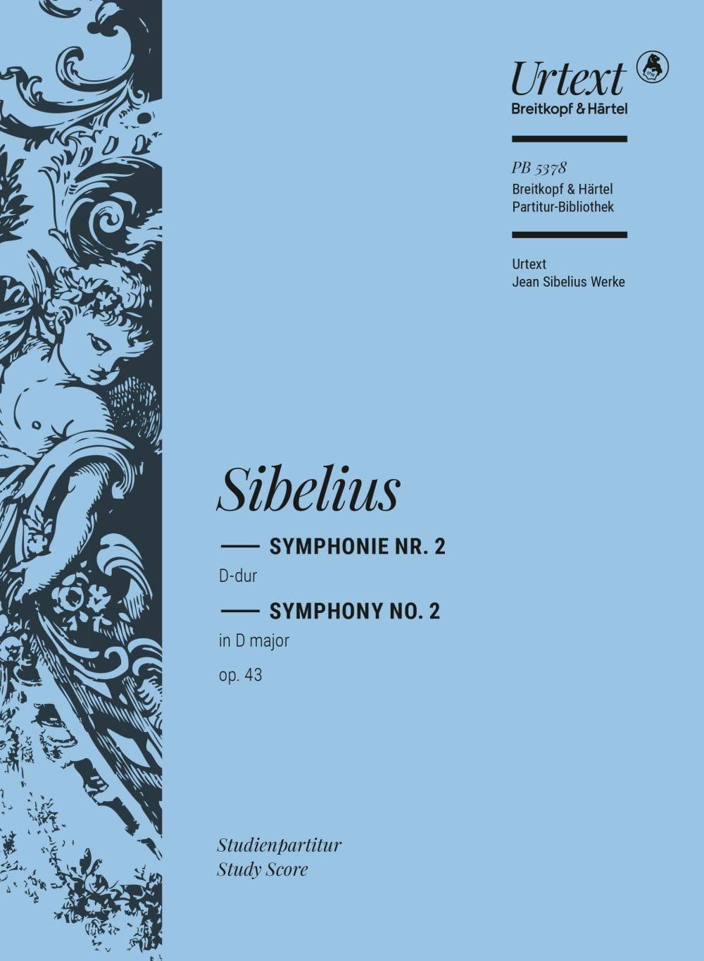 Symphonie Nr. 2 D-Dur op. 43 - Partitur - SIBELIUS - laflutedepan.com