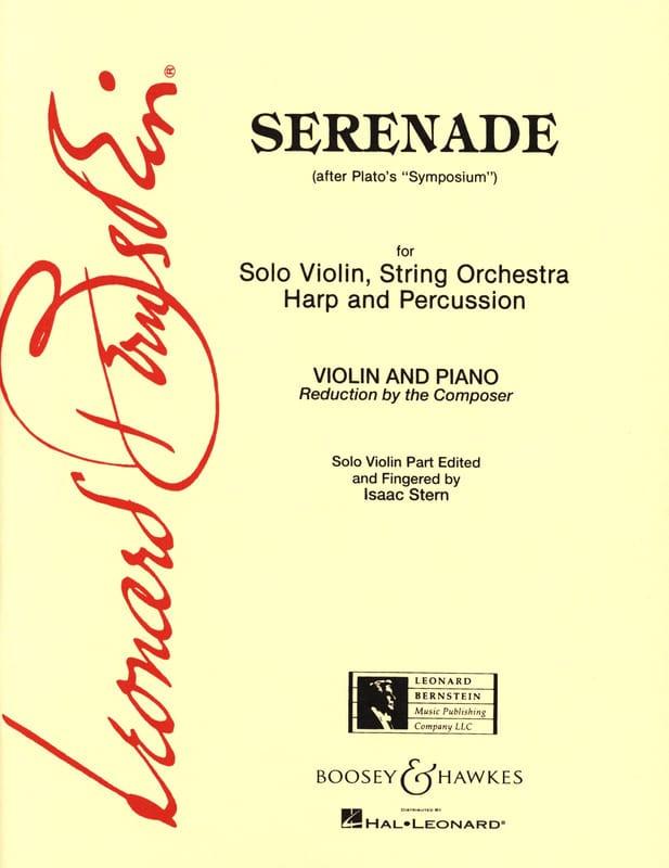 Serenade - BERNSTEIN - Partition - Violon - laflutedepan.com