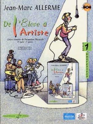De l'Elève à l'Artiste - Volume 1 - Prof. - laflutedepan.com