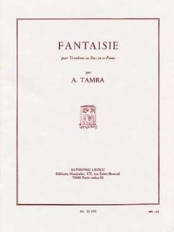 Fantaisie Akira Tamba Partition Basson - laflutedepan