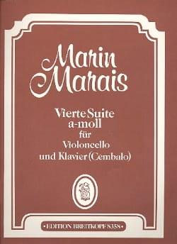 Vierte Suite a-moll - Cello Marin Marais Partition laflutedepan