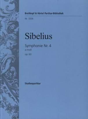 Symphonie N° 4 a-moll op. 63 - Partitur SIBELIUS laflutedepan