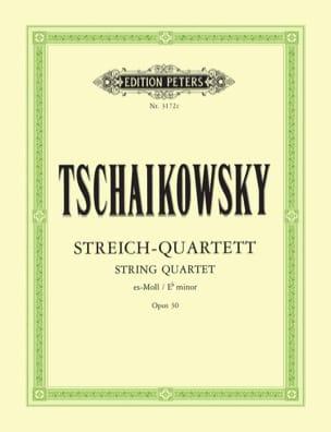 TCHAIKOVSKY - Major String Quartet Op. 30 - Parts - Partition - di-arezzo.co.uk