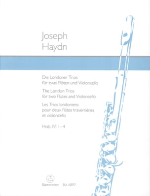 HAYDN - The London Trios - 2 Flöten-Violoncello 2 Flutes-Cello - Partition - di-arezzo.co.uk