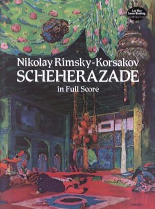 Sheherazade - Full Score RIMSKY-KORSAKOV Partition laflutedepan