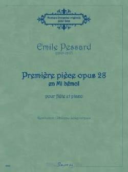 Première pièce opus 28 en Mi bémol Emile Pessard laflutedepan