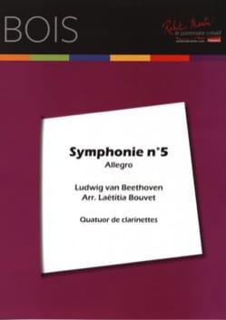 Allegro de la Symphonie n° 5 - 4 Clarinettes BEETHOVEN laflutedepan