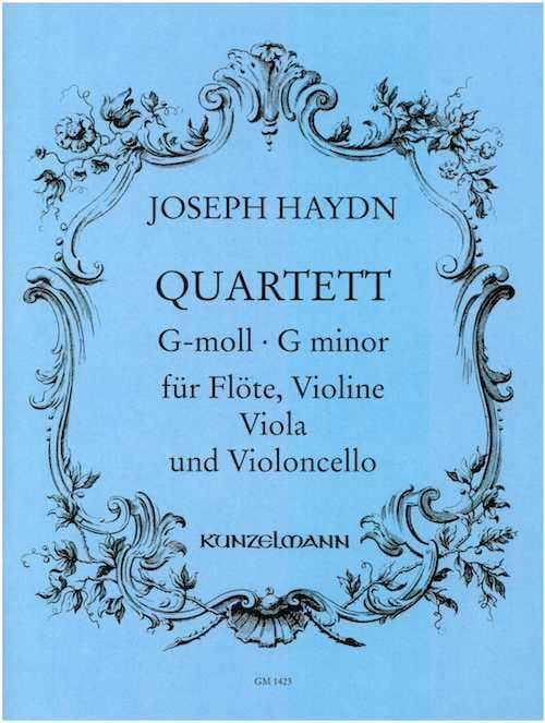 Quartett g-moll - Flöte Violine Viola Violoncello - Stimmen - laflutedepan.com