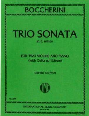 Trio sonata C minor - Parts - BOCCHERINI - laflutedepan.com