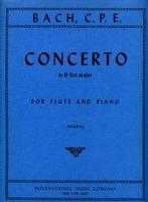 Concerto B flat major Wq 167 - Flute piano - laflutedepan.com