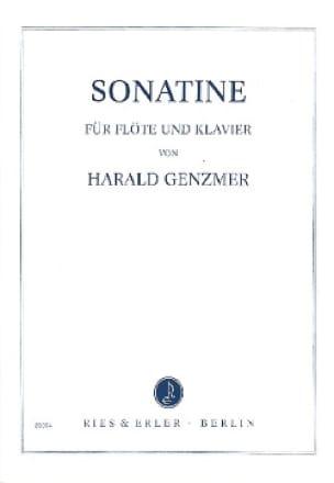 Sonatine - Flöte Klavier - Harald Genzmer - laflutedepan.com