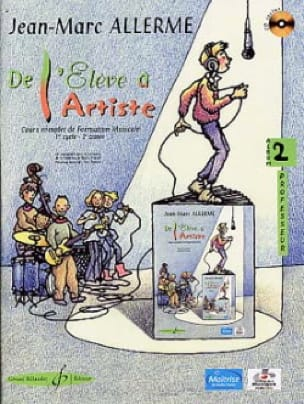 De l'Elève à l'Artiste - Volume 2 - Prof. - laflutedepan.com