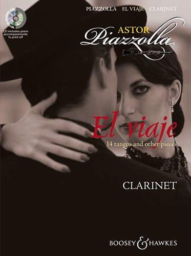 El Viaje for Clarinet - Astor Piazzolla - laflutedepan.com