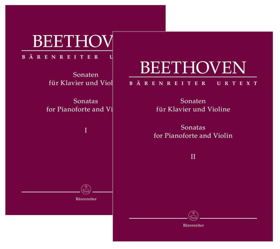 Sonates pour Violon & Piano - BEETHOVEN - Partition - laflutedepan.com