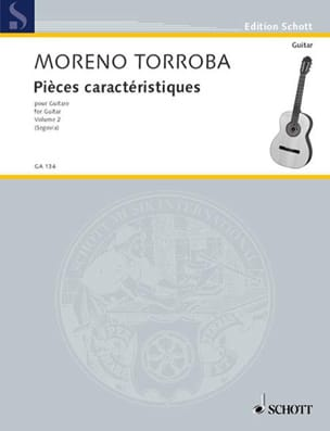 Pièces caractéristiques - Bd. 2 Federico Moreno-Torroba laflutedepan