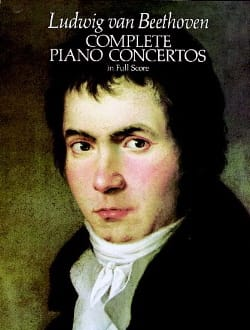 Complete Piano Concertos - Full Score BEETHOVEN Partition laflutedepan