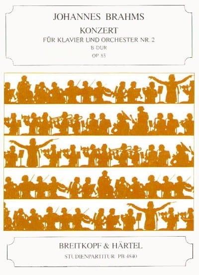 Klavierkonzert Nr 2 B-Dur, Opus 83 - BRAHMS - laflutedepan.com