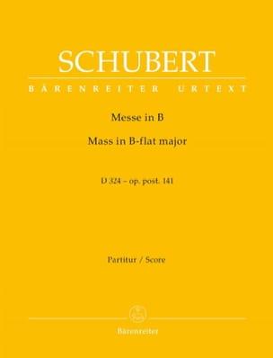 Messe in B-Dur D. 324 op. post. 141 - Partitur - laflutedepan.com