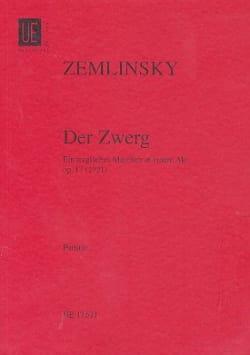 Der Zwerg Op. 17 Alexander von Zemlinsky Partition laflutedepan