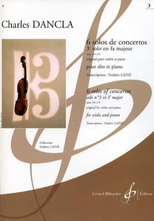 3e Solo de Concerto Op. 141 N° 3 en Fa Majeur -alto laflutedepan