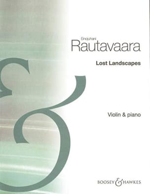 Lost Landscapes Einojuhani Rautavaara Partition Violon - laflutedepan