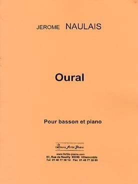 Oural Jérôme Naulais Partition Basson - laflutedepan