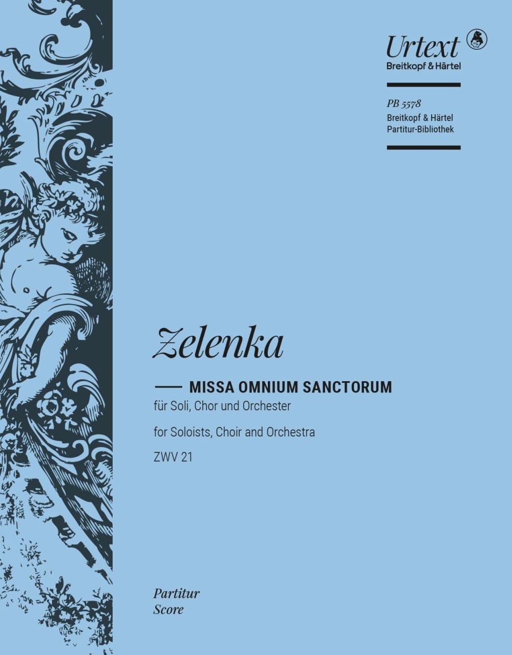 Missa Omnium Sanctorum - ZELENKA - Partition - laflutedepan.com