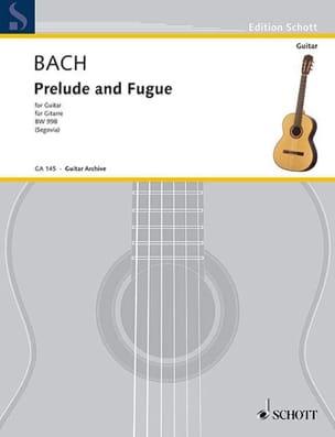 BACH - Preludio y fuga D-Dur BWV 998 - Partition - di-arezzo.es