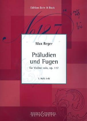 Präludien und Fugen op. 117, Heft 2 Max Reger Partition laflutedepan