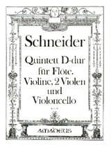Quintett D-Dur op. 49 -Flöte Violine 2 Violen Cello - laflutedepan.com