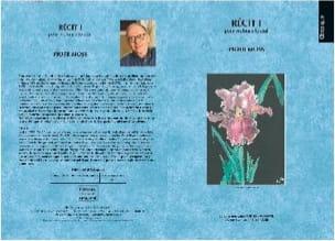 Recit 1 Piotr Moss Partition Violoncelle - laflutedepan