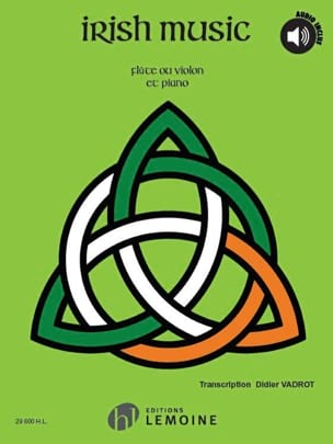Irish Music Didier Vadrot Partition Flûte traversière - laflutedepan