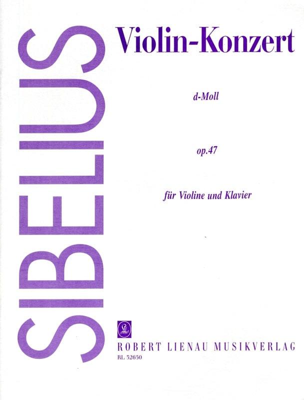Concerto Violon en Ré Mineur Op.47 - SIBELIUS - laflutedepan.com
