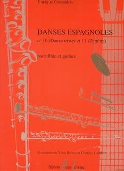 Danses espagnoles n° 10 et 11 - Flûte guitare GRANADOS laflutedepan