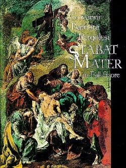 Stabat Mater - Score PERGOLESE Partition Grand format - laflutedepan