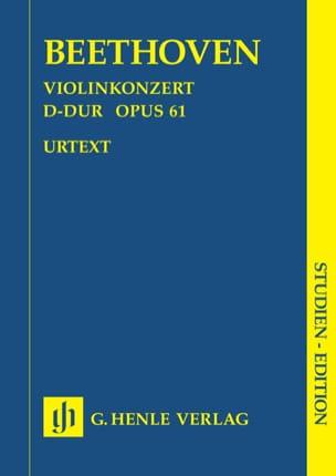 Concerto pour violon en Ré majeur op. 61 BEETHOVEN laflutedepan