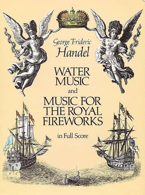 Water Music & Music for the Royal Fireworks - Full Score - laflutedepan.com