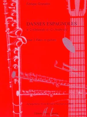 Danses espagnoles n° 2 et 12 GRANADOS Partition Trios - laflutedepan