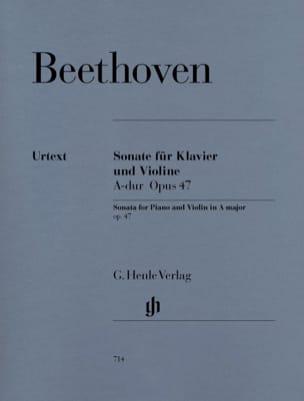 BEETHOVEN - Sonata Op. 47 in Kreutzer - Partition - di-arezzo.co.uk