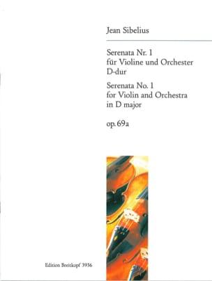 Serenata n°1, D-dur op. 69a SIBELIUS Partition Violon - laflutedepan