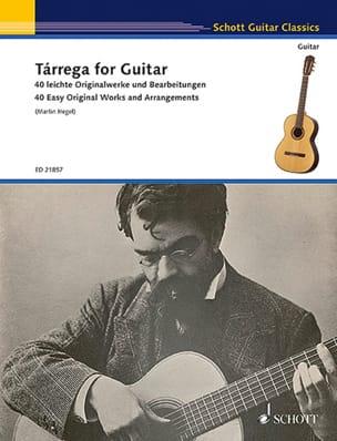 Tarrega for Guitar - Guitare - TARREGA - Partition - laflutedepan.com