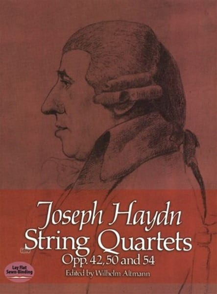 String Quartets Op.42, 50 & 54 - HAYDN - Partition - laflutedepan.com