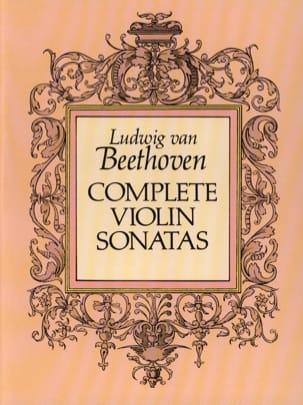 Complete Violin Sonatas BEETHOVEN Partition laflutedepan