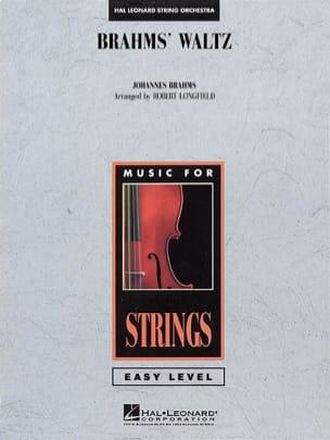 Brahms' Waltz - score & parts BRAHMS Partition laflutedepan