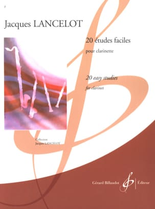 Jacques Lancelot - 20 estudios fáciles - Partition - di-arezzo.es