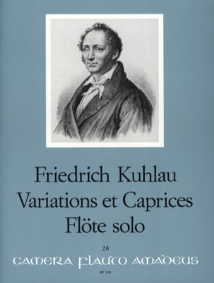Variations et Caprices op. 10 - Flöte solo laflutedepan