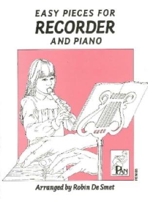 Easy pieces for Recorder and Piano - Smet Robin De - laflutedepan.com